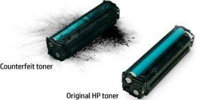 شارژ کارتریج لیزری اچ پی hp