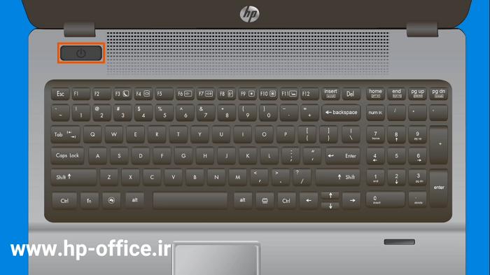 بایوس لپ تاپ های اچ پی