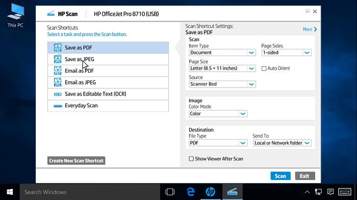 پشتیبانی HP MFP | اسکنر