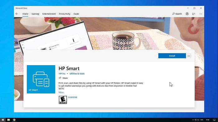 کپی و پرینت از طریق اپلیکیشن HP smart