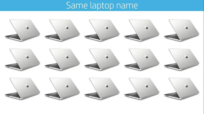 کد اختصاصی لپ تاپ HP